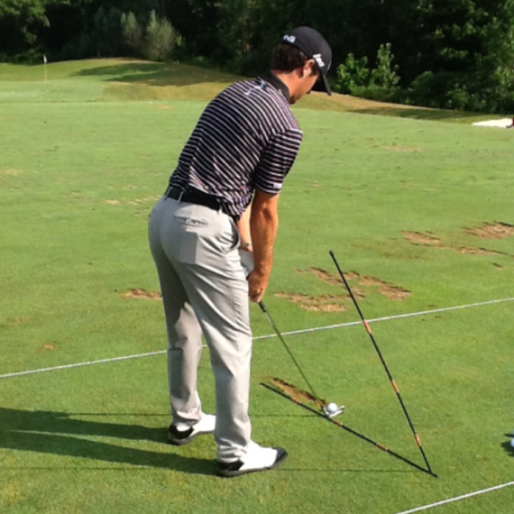 Alignment Stick Drill