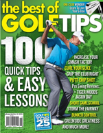 Zach Covers GolfTips Magazine